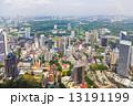 都市 高層ビル群 超高層建築の写真 13191199
