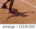 クレーコートでのテニス 13191305