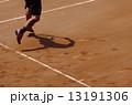 クレーコートでのテニス 13191306