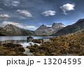 湖畔 タスマニア タスマニア島の写真 13204595