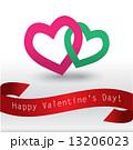 バレンタイン プレゼント カードのイラスト 13206023
