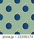 Plum pattern. Seamless texture with ripe plums 13206174