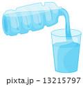 注ぐ ウォーター 水のイラスト 13215797