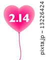 バレンタイン バレンタインデー 風船のイラスト 13226424