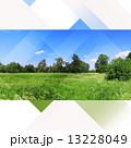 Landscape nature hi-tech collage 13228049