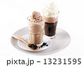 Two glass of ice coffee 13231595