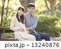 妊婦 夫婦 家族の写真 13240876