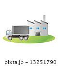 倉庫 建物 トラック  貨物  13251790