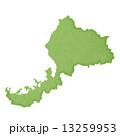 福井県地図 県地図 福井県のイラスト 13259953