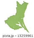 茨城県地図 県地図 茨城県のイラスト 13259961