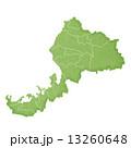 福井県地図 県地図 福井のイラスト 13260648