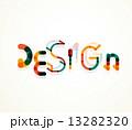 ワード 単語 デザインのイラスト 13282320