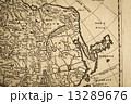 東アジア 古地図 地図の写真 13289676