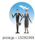 飛行機 客室乗務員 CA パイロット 13292369