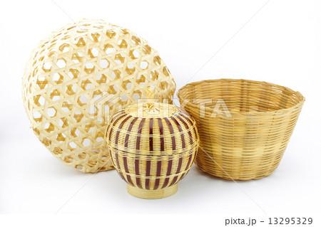 bamboo wickerworkの写真素材 [13295329] - PIXTA