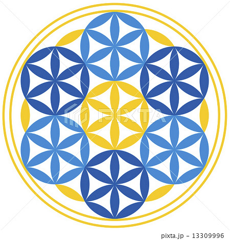 Flower of Life With Spheres 13309996