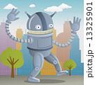 Happy robot in the city 13325901