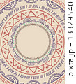 Tribal Bohemian Mandala background with round ornament pattern  13329540