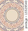 Tribal Bohemian Mandala background with round ornament pattern  13329540
