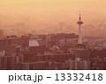 京都タワー 京都市街 京都の写真 13332418