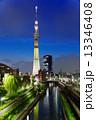 東京スカイツリー スカイツリー 夜景の写真 13346408