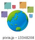 地球 世界 グローバル コミュニケーション 13348208