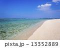 エメラルドブルー 海 南国の写真 13352889