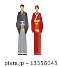 男女 人物 カップルのイラスト 13358043