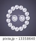 ジュエリー 宝飾品 光るのイラスト 13358640