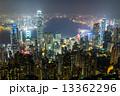 香港 ビクトリア・ピーク夜景 13362296