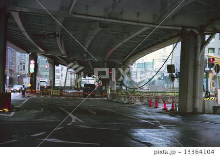 阪神淡路大震災 阪神高速神戸線 13364104