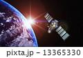 地球と人工衛星 13365330