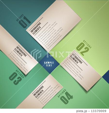 レイアウト インフォグラフィック デザインのイラスト素材 [13370009] - PIXTA