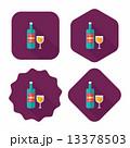 コップ ぶどう酒 ワインのイラスト 13378503
