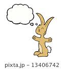 ウサギ 兎 うさぎのイラスト 13406742