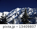 北アルプス 西穂高岳 山岳の写真 13409807