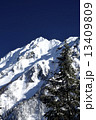 北アルプス 西穂高岳 山岳の写真 13409809