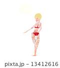 絵 キャラクター 文字のイラスト 13412616