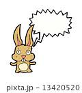 うさぎ ウサギ 兎のイラスト 13420520