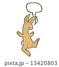 うさぎ ウサギ 兎のイラスト 13420803