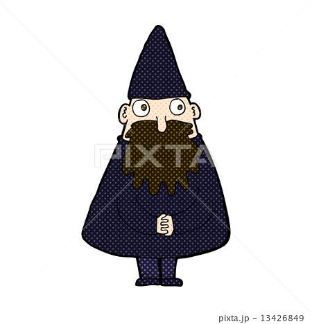 comic cartoon wizardのイラスト素材 [13426849] - PIXTA
