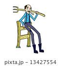 コミック 漫画 農夫のイラスト 13427554