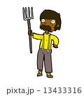 コミック 漫画 農夫のイラスト 13433316