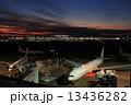 羽田空港 羽田 夕焼けの写真 13436282