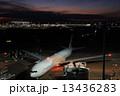 羽田空港 羽田 夕焼けの写真 13436283