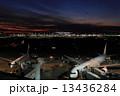 羽田空港 羽田 夕焼けの写真 13436284