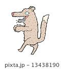 コミック 漫画 おおかみのイラスト 13438190