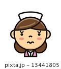 看護師 ベクター 人物のイラスト 13441805