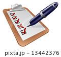 フォーム 形態 形式のイラスト 13442376