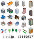 様々な建物 / 立体図 13445637